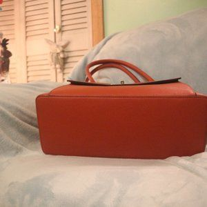 kate spade Bags - Kate Spade Orange Shopper Tote Bag